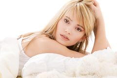 Lovely teenage girl Stock Images
