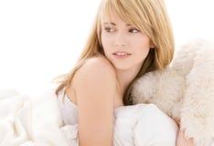 Lovely teenage girl Stock Photo
