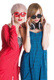 Lovely teenage girls Royalty Free Stock Photography