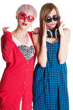 Lovely teenage girls Stock Photography
