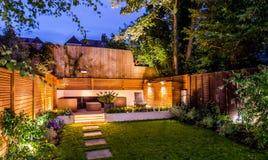 Free Lovely Terrace Outside Luxury House Stock Image - 138849191