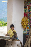 Lovely Tibetan boy Stock Image