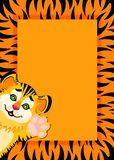 Lovely tiger toddler Royalty Free Stock Photo
