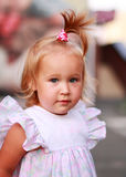 Lovely toddler girl Stock Image