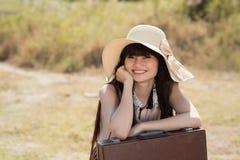 Lovely traveler Royalty Free Stock Photography