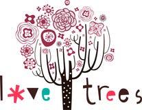 Lovely tree design Royalty Free Stock Photos