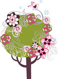 Lovely tree design Stock Photo