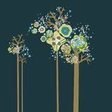 Lovely tree design Stock Photography