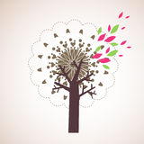 Lovely tree design Stock Photos