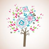 Lovely tree design Royalty Free Stock Photos