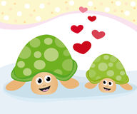 Lovely turtles Royalty Free Stock Photo