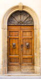 Lovely tuscan doors Royalty Free Stock Image