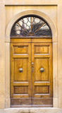 Lovely tuscan doors Royalty Free Stock Photos