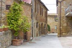 Lovely tuscan street Royalty Free Stock Image