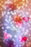 Lovely valentine background Royalty Free Stock Images