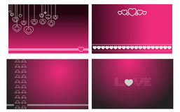 Lovely valentine baground design Royalty Free Stock Photo