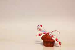Lovely valentine cupcake Stock Images