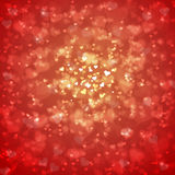 Lovely Valentine's Day Hearts background Royalty Free Stock Photos