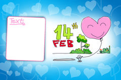 Lovely Valentines Background Royalty Free Stock Image