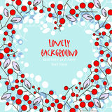 Lovely vector background Stock Images