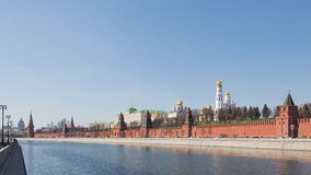 Lovely view of the Moscow Kremlin Royalty Free Stock Image