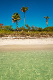 Lovely Warm Water At Beach in Bahia Honda royalty free stock images