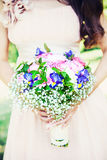 Lovely wedding bouquet Royalty Free Stock Photos