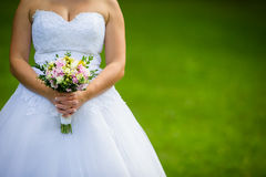 Lovely wedding bouquet Royalty Free Stock Images