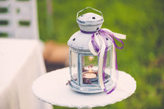 Lovely wedding decor Stock Photo