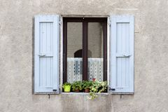 Lovely Window box flower Stock Images