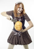 Lovely witch Stock Photography