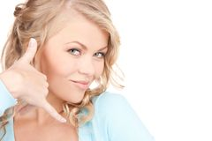 Lovely woman Stock Images