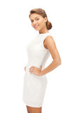 Lovely woman in elegant dress Stock Photography