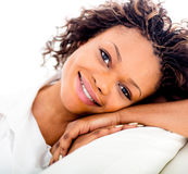 Lovely woman portrait Stock Images