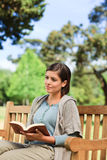 Lovely woman reading Royalty Free Stock Images