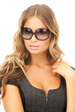 Lovely woman in shades Stock Photo