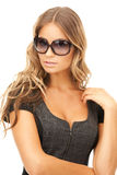 Lovely woman in shades Royalty Free Stock Photo