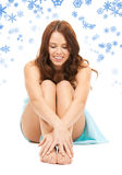 Lovely woman in towel Royalty Free Stock Photography