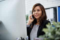 Business lady stock image