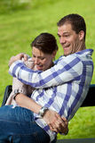 Lovely young couple Stock Photography