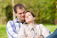 Lovely young couple Stock Images