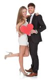 Lovely young couple Stock Photo