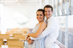 Lovely young couple Stock Photos