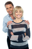 Lovely young couple portrait Stock Photography