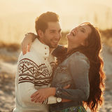 Lovely young couple Royalty Free Stock Images