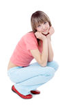 Lovely young girl Royalty Free Stock Images