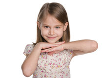 Lovely young girl Royalty Free Stock Photography