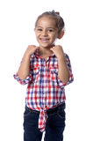 Lovely Young Girl Posing for Photo Royalty Free Stock Image