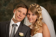 Lovely young married couple Stock Images