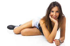 Lovely young woman Royalty Free Stock Images